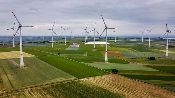 Szélenergia-farm Németországban