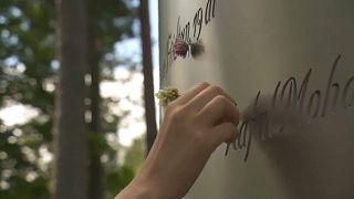 Gedenkstätte für die Terroropfer auf Utöya