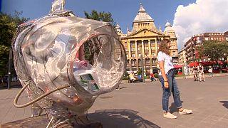 Hungría a la cola del reciclaje de plástico