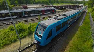 Alstom's Coradia iLint hydrogen train