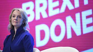 Britain's International Trade Secretary Liz Truss