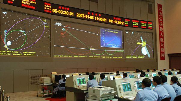 مركز بكين لمراقبة الفضاء الجوي، الإثنين 5 نوفمبر 2007.