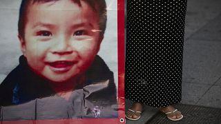 Fotografía de Dylan Esaú, el niño secuestrado en San Cristóbal de las Casas