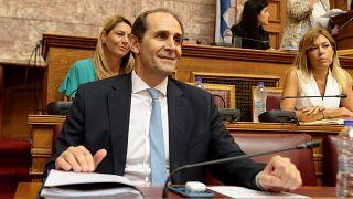 Ο υφυπουργός Οικονομικών Απόστολος Βεσυρόπουλος