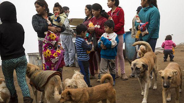 Συσσίτιο στο Περού