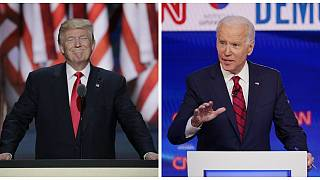 Donald Trump, US President & Joe Biden, Democrat presidential candidate