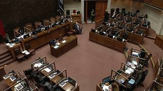 El Senado chileno durante la sesión en la que se ha aprobado el proyecto de ley