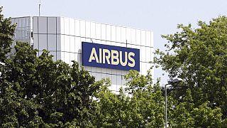 Протест против реструктуризации Airbus в Испании