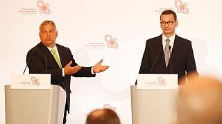 نخستوزیران لهستان و مجارستان
