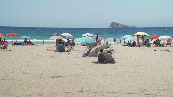 Die neu kreierten Strandparzellen von Benidorm versprechen Sicherheit