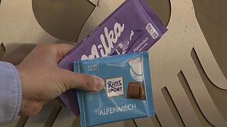Almanya'da kare şeklinde çikolata üreten Ritter Sport, Milka'nın açtığı davayı kazandı