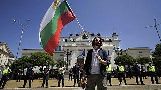A tüntetők szerint a korrupció behálózta egész Bulgáriát