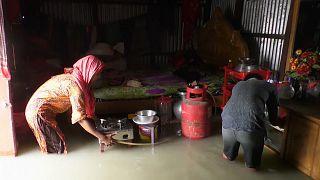 Un tiers du Bangladesh victime de la mousson et des inondations