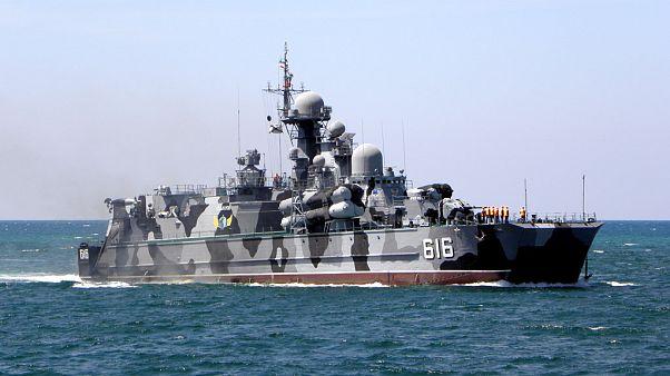 Ο ρωσικός στόλος στην ανατολική Μεσόγειο