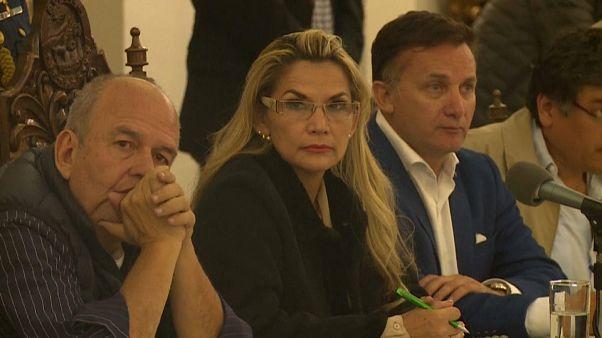Jeanine Áñez, AFP TV
