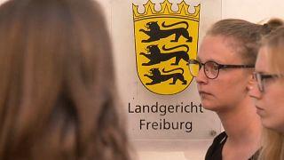 Germany gang rape trial begins - Freiburg