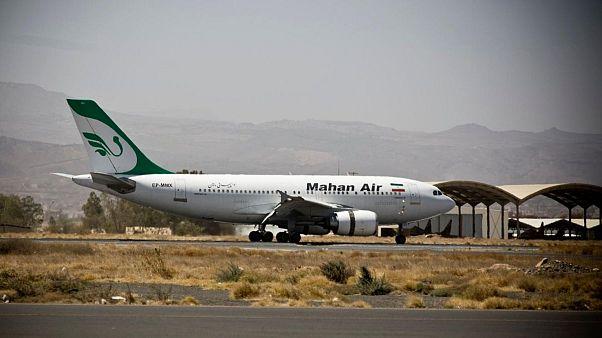 یک فروند هواپیمای شرکت «ماهان»