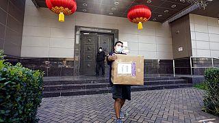 Diplomácia csörte Washington és Kína között