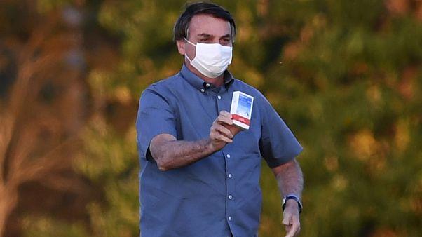 Bolsonaro mit Chloroquin