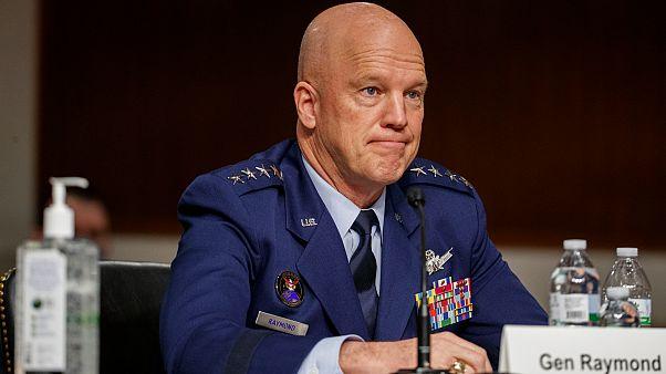 ABD Uzay Kuvvetleri Komutanı General John Raymond