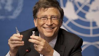 Illustration Bill Gates, le 17 mai 2011, à l'office des Nations Unies à Genève