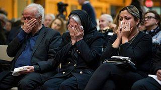 خانوادههای عزادار سرنشینان هواپیمای سرنگون شده اوکراین