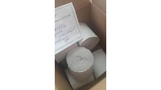 Romanians ordered face masks but received rolls of toilet paper