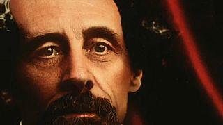 Charles Dickens portréi színesben