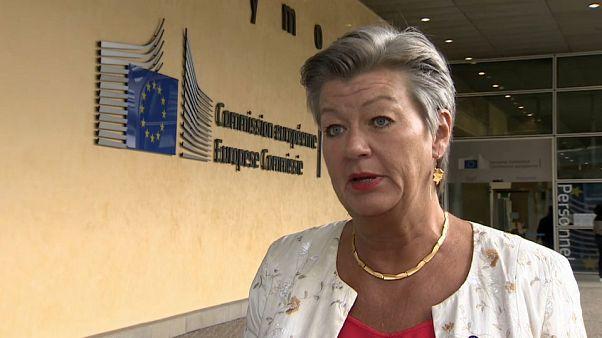 Ylva Johansson, EU Home Affairs Commissioner