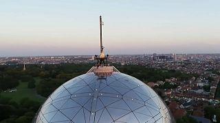 Geheimes DJ-Setauf dem Brüsseler Atomium