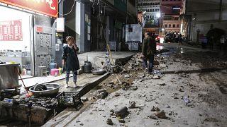 هزة أرضية أصابت مدينة في الصين