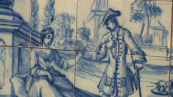 """Portugal : """"800 ans d'histoire des azulejos"""" au musée Berardo Estremoz"""