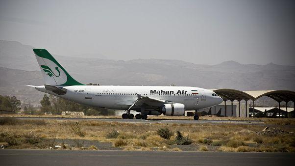 صورة أرشيفية لطائرة تابعة لشركة ماهان إير الإيرانية