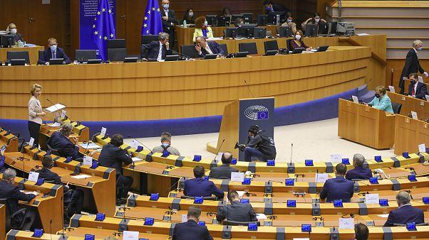 البرلمان الأوروبي ببروكسل