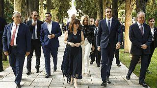 Η Πρόεδρος της Ελληνικής Δημοκρατίας, Κατερίνα Σακελλαροπούλου