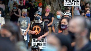 من مظاهرات بورتلاند