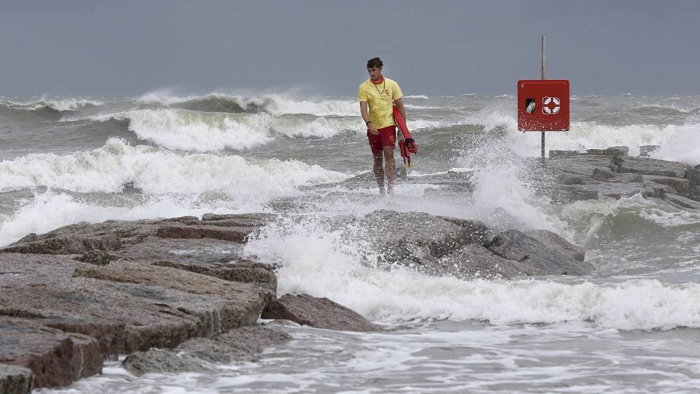 Tropical storm Hanna expected to hit southern Texas coast as a hurricane