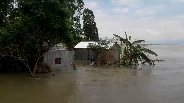 Bangladesh : 3 millions de personnes touchées par les inondations dues à la mousson