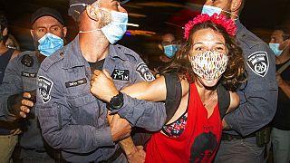 Protestos em Jerusalém