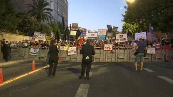 Nuevas protestas en Israel contra Netanyahu por la gestión de la pandemia y su juicio por corrupción