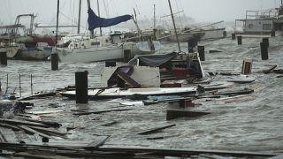 "Ураган ""Ханна"" в городе Корпус Кристи, Техас"