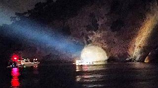 İstanbul Heybeliada açıklarında tekne battı: 27 kişi kurtarıldı