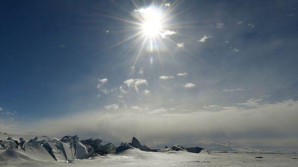 Antarktika'daki metan gazı sızıntısı bilim insanlarını korkutuyor / Arşiv