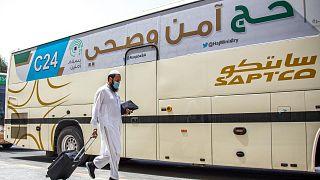 ورود هزار زائر مجاز به مکه برای حج در شرایط ویژه کرونا آغاز شد