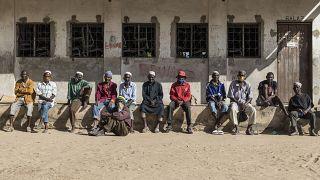 Deslocados da violência armada em Cabo Delgado no campo de Metuge
