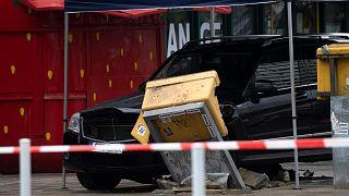 انحراف خودرو در برلین به سمت عابران پیاده ۷ مجروح به جا گذاشت