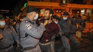 اعتراض هزاران اسرائیلی به ناتوانی دولت نتانیاهو در مهار ویروس کرونا