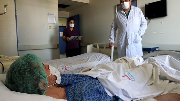 Covid-19 tedavisi gören hastalar