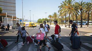 Flughafen in Palma de Mallorca
