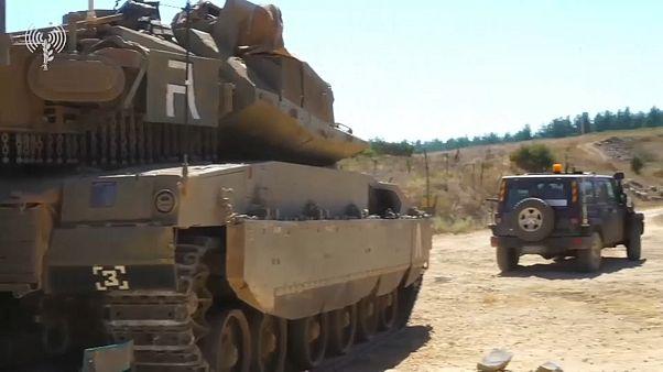Israël blinde sa frontière avec la Liban